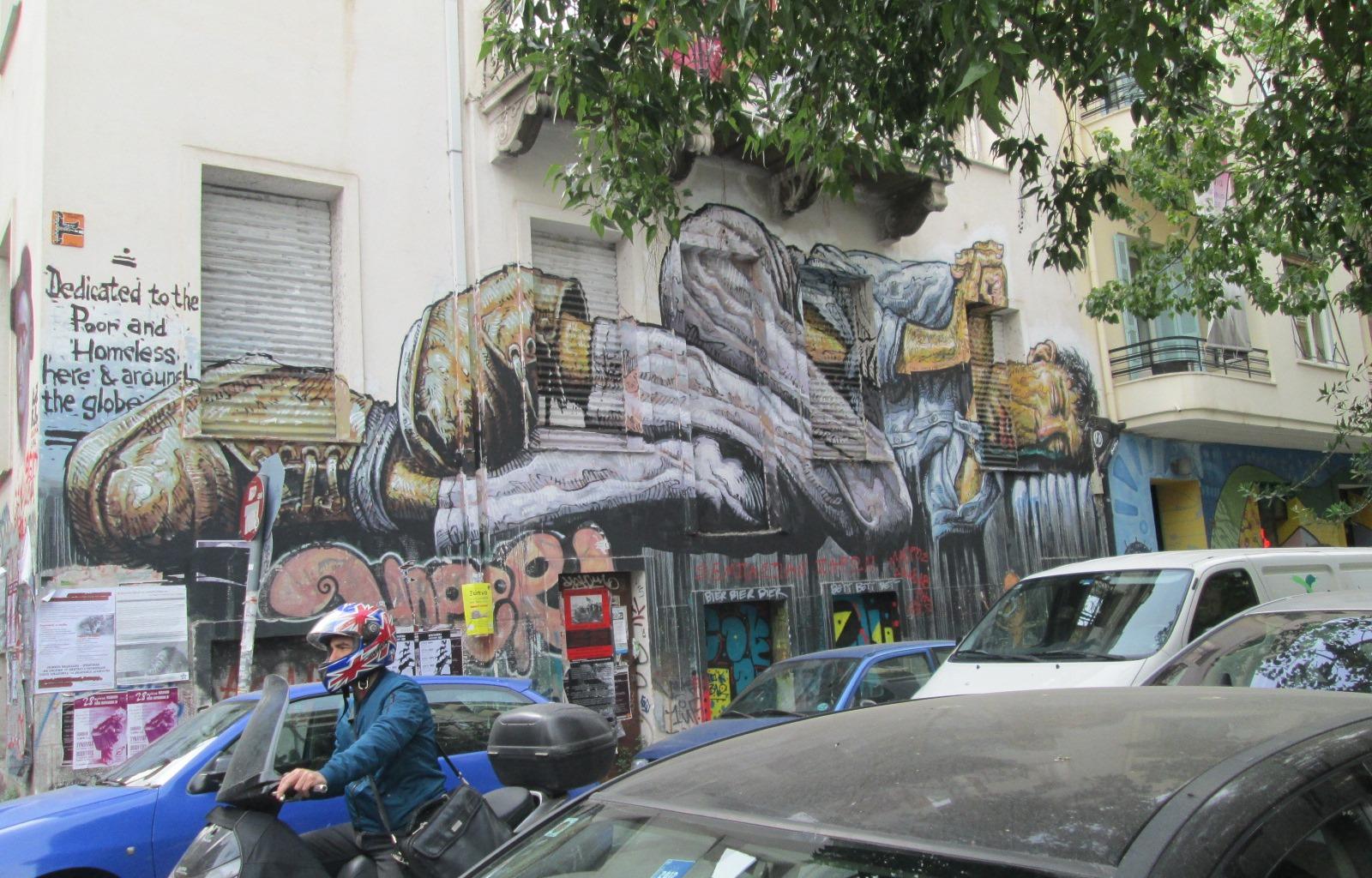 Fresque Athènes
