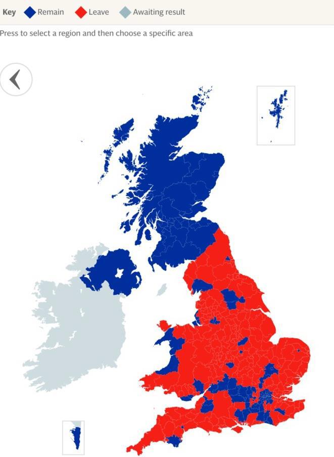 Votes britaniques brexit